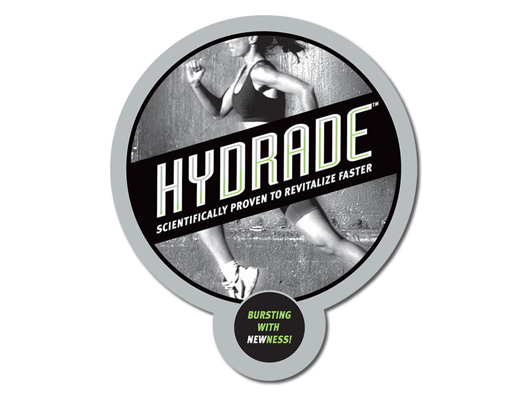 Hydrade Window Static on entry and cooler