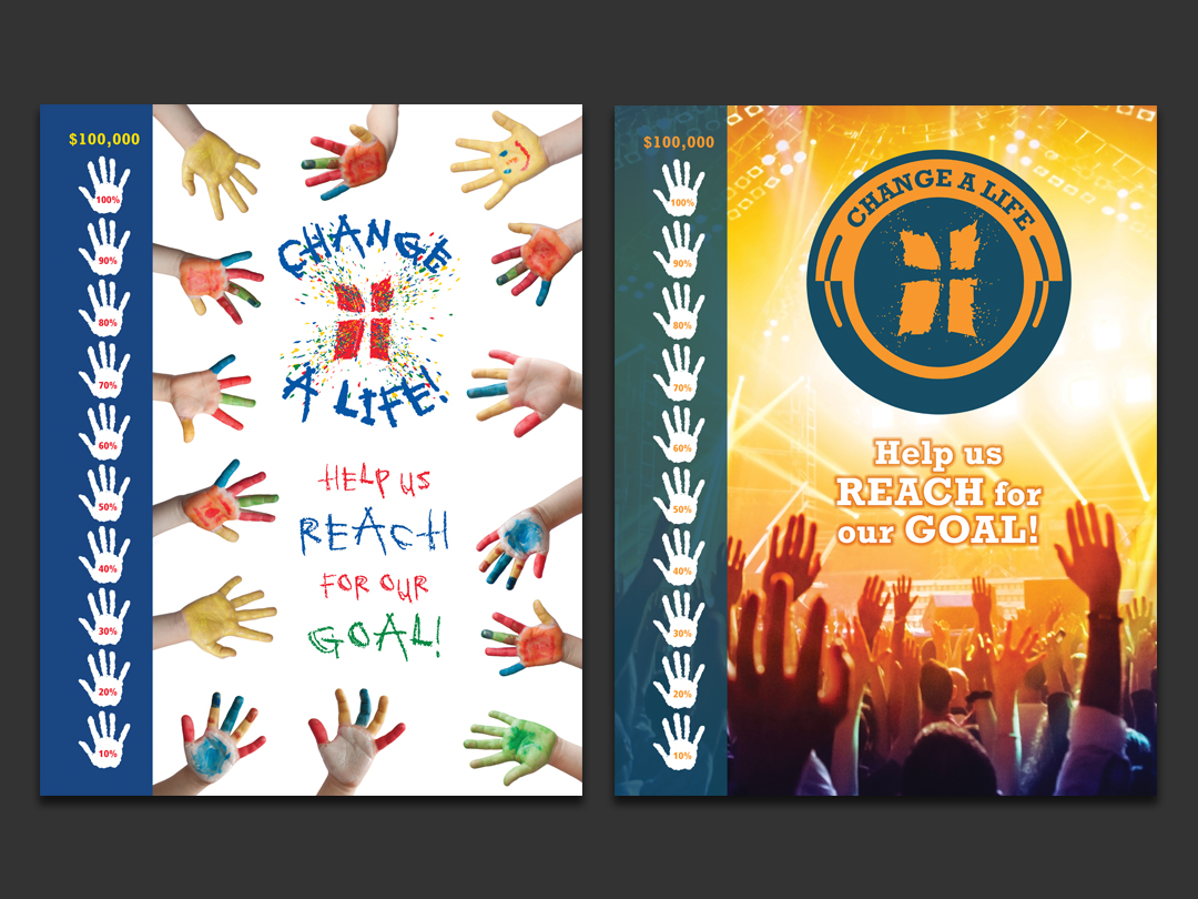 Hope Community Church Change A Life Posters