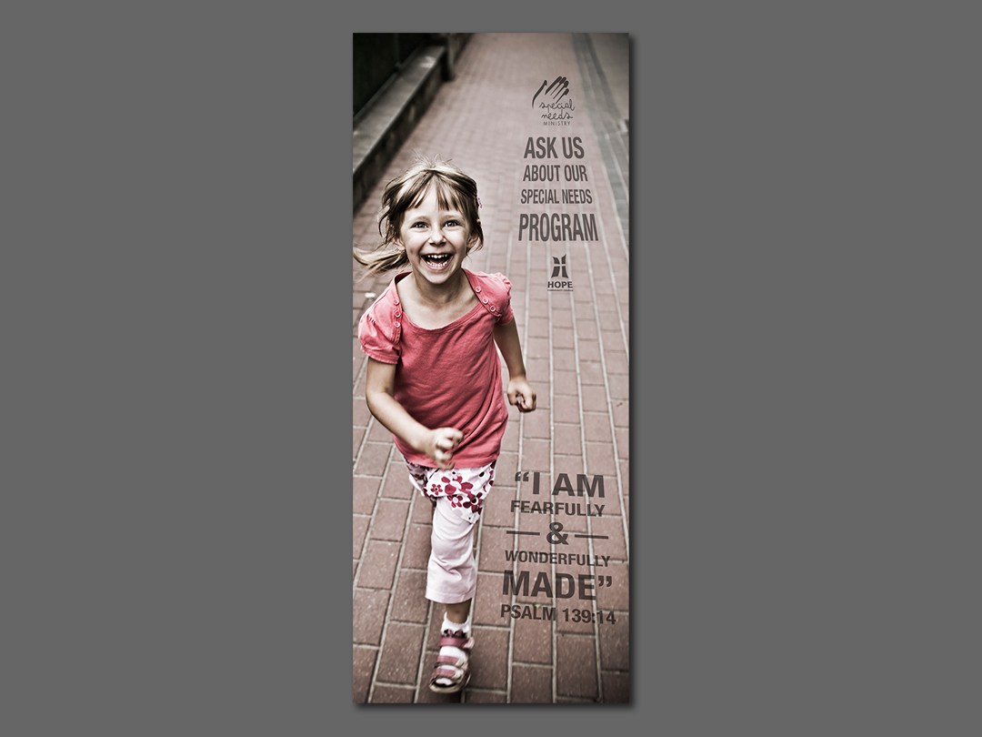 Hope Church Special Needs Banner